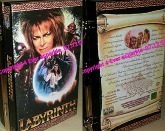 Labyrinth Custom Clutch Book/Dvd bag