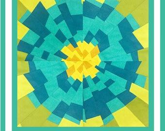 Improv Flower PDF pattern