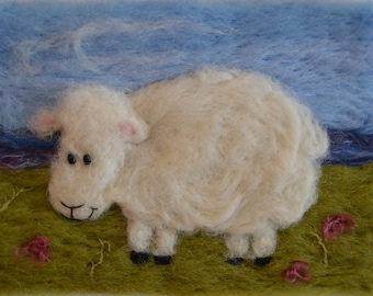 Loveable, wooly sheep for childs room