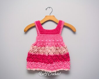 Vintage Baby Doll Dress // Handmade Crochet Newborn Dress Made to Order