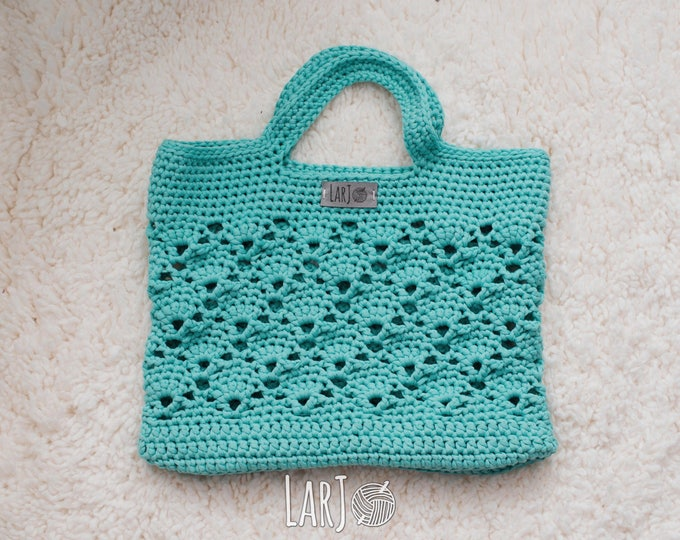 Featured listing image: Vintage Market Tote (Cotton/Nylon Bag)