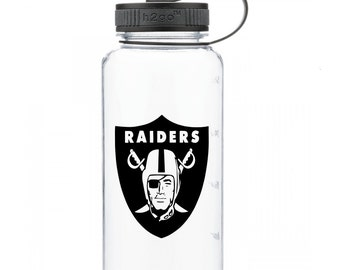 Raiders Personalized Water Bottle