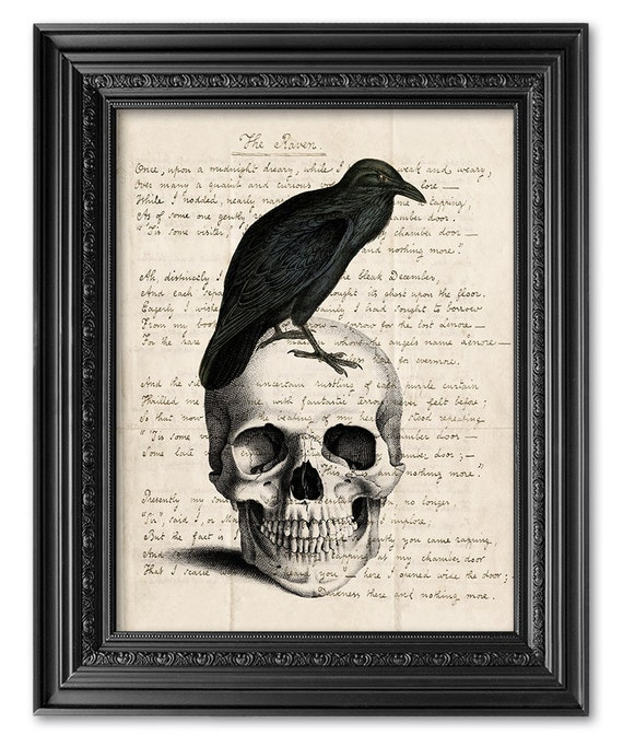 Super Edgar Allan Poe Art Print Original Handwriting Edgar Allan SE56