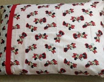 Minnie Mouse Pillow Case- Standard Pillow