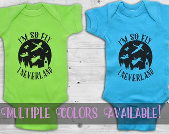 Peter Pan, I'm so fly I neverland, Mutliple colors available
