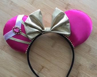 Sleeping Beauty Ears, Aurora Ears, Princess Aurora