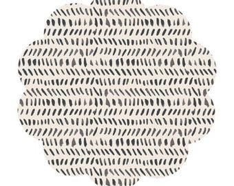 Modern knit fabric supply. Splendid oath ink print knit fabric. Sewing/craft knit fabric. DIY sewing fabric. Modern print knit. Apparel knit