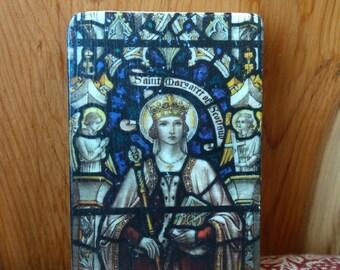 St Margaret of Scotland Icon on Wood