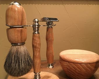 Hand Crafted Wet Shaving Kit