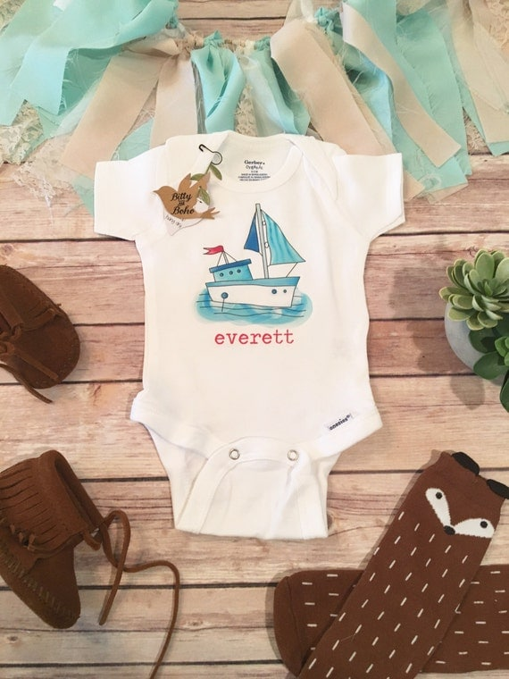 Custom esie Baby Boy Clothes Name esie Custom Baby