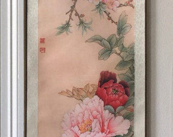 Chinese Painting Scroll made by silk