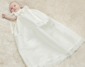 Christening Gown 'Scarlett' by Adore Baby.  Baptism Gown, Christening Dress, Christening Outfit