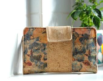 Vegan purse made of Cork