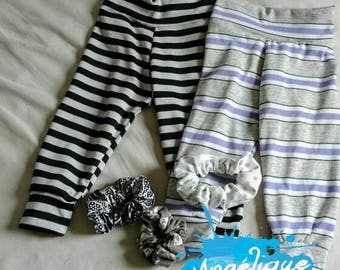 Set/leggings / jogging / baby girl/9-12 months / lined