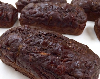 Double Chocolate Zucchini Bread (Four Pack)