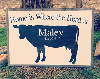 "Home is Where the Herd is ""custom"""