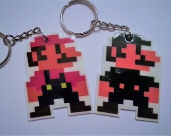 8-Bit Super Mario Bros Sprites - Mario or Luigi
