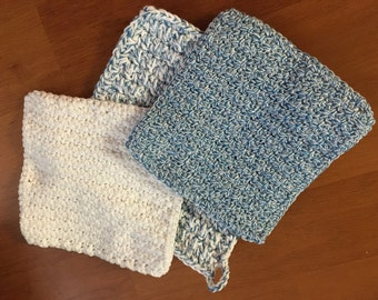 Dishcloths & potholder set