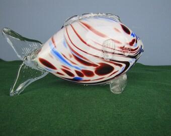 Retro 1960's Murano Glass Fish