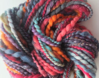 Handspun merino art yarn