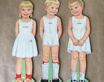 Paper Dolls with International Costumes Dolls of the World European Paper Dolls