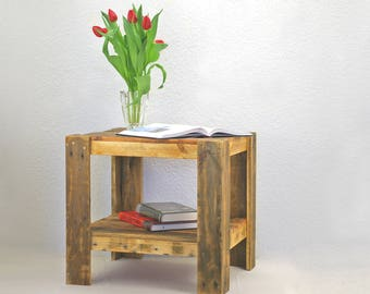 Side table range furniture table range of shelf