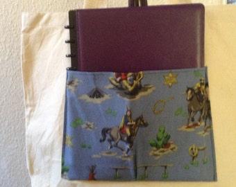 Cowboys and Indians Pocket - Canvas Tote Bag