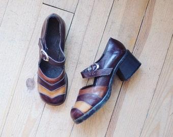 Retro vintage deadstock 70-ies pumps shoes size 40