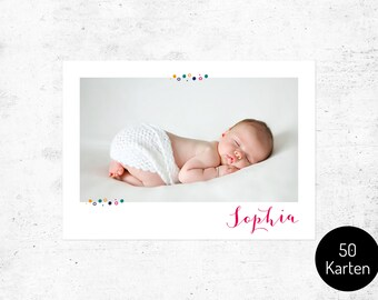 Card / birth no.. 1