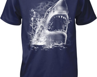 Great White Shark Men's T-shirt, NOFO_00441