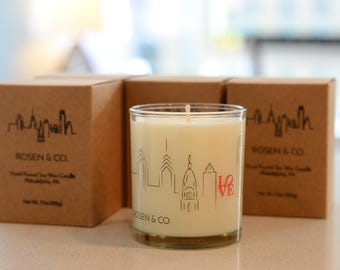 Be Happy :) Soy Candle