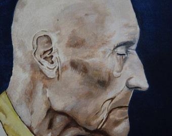 William Burroughs Portrait