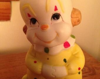 Nursery Baby Night Light Clown Soft Comforting Baby Lamp Sweet Soft Loving Glowing Infant Newborn Pretty Clown Light