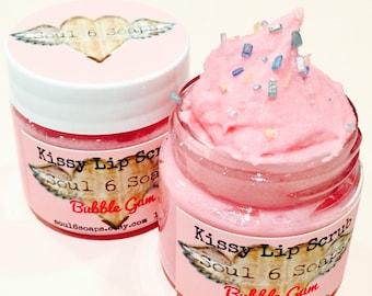 Kissy Lip Scrub - Bubble Gum 1 oz.