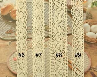Cream Cotton Trim 5 yards MT0262