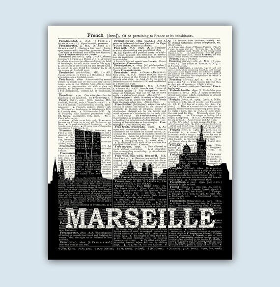 Marseille art marseille cityscape marseille home decor for Autrefois home decoration marseille