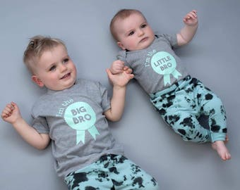 Sibling Shirts-Shirt set siblings-Big brother Shirt-Little brother Shirt-Brother outfits-Sibling Outfit-Matching-Little brother Shirt-