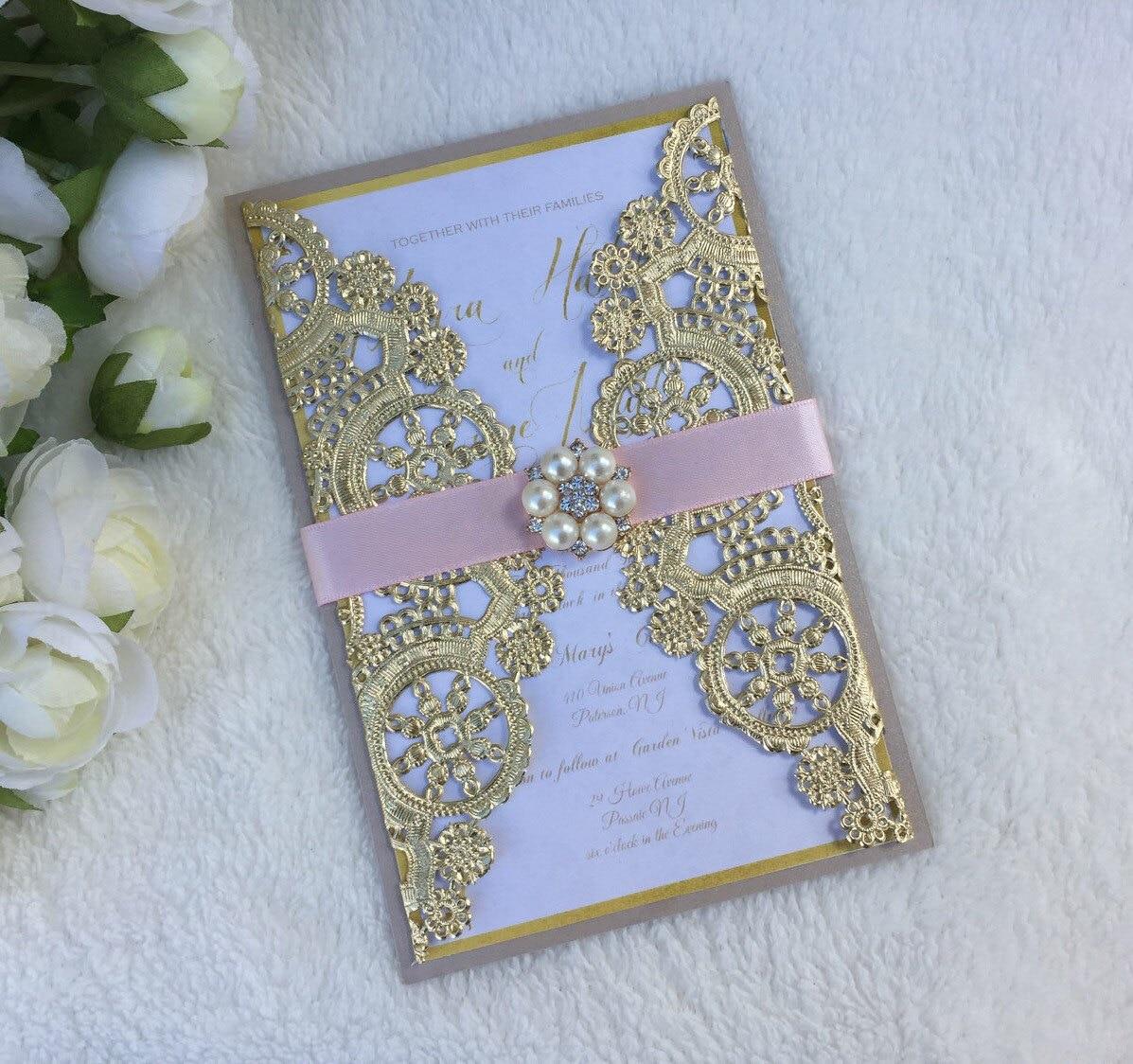 paper doily wedding invitations   Wedding
