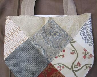 Quilted, Tapestry, Drapery, Upholstery, Shoulder Tote Bag, Carry Bag, Gym Bag, Yoga Bag, Grocery Bag, All Purpose Shoulder Tote Bag.