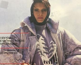 BERNINA Sewing Club Magazine Autumn/Winter no.9 1987