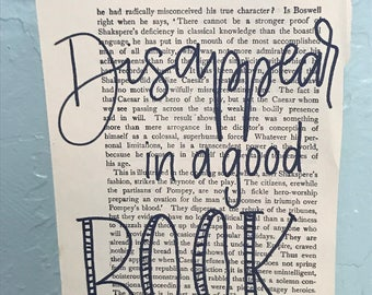 Disappear in a good book