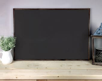 Framed Chalkboard | Large Chalkboard | Rustic Chalkboard | Chalkboard Sign | Kitchen Chalkboard
