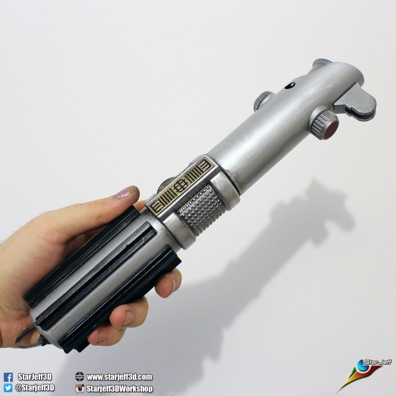 Anakin / Luke Skywalker Lightsaber from Star Wars Fan-art