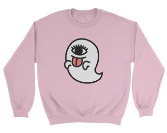 Harajuku Kawaii Ghost Sweatshirt