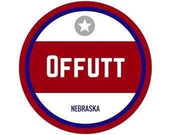 Offutt AFB Sticker
