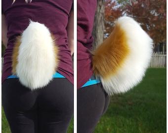 Brown rabbit tail