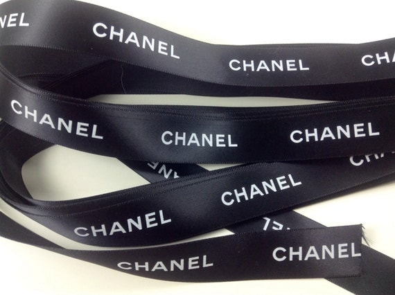 3.9 x meters Authentic Chanel fabric ribbon width 20mm