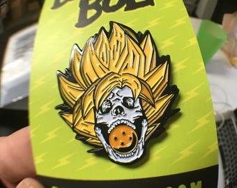 Goku - 4 Star Dragonball Enamel Pin