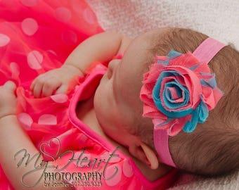Neon Pink Headband, Neon Headband, Baby Headband, Newborn Headband, Infant Headband, Baby Girl Headband, Headband, Neon Pink, Girl Headband