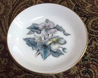 Royal Worcester Pin Dish Sylvia Pattern